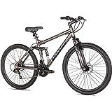 Takara Jiro Dual-Suspension Disc Brake Mountain Bike, 27.5-Inch