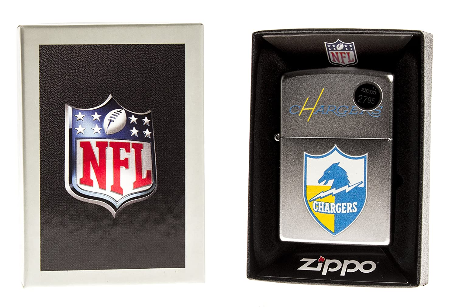 Zippo CI016774/205 San Diego Chargers NFL Throwback Lighter Camping Lights and Lanterns Greys Distribution