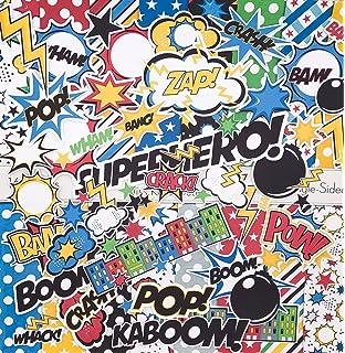 amazon com marvel comics scrapbooking paper stack 120 sheets toys