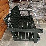 Highwood AD-PORW1-CHE Weatherly Porch Swing 5 Feet, Charleston Green