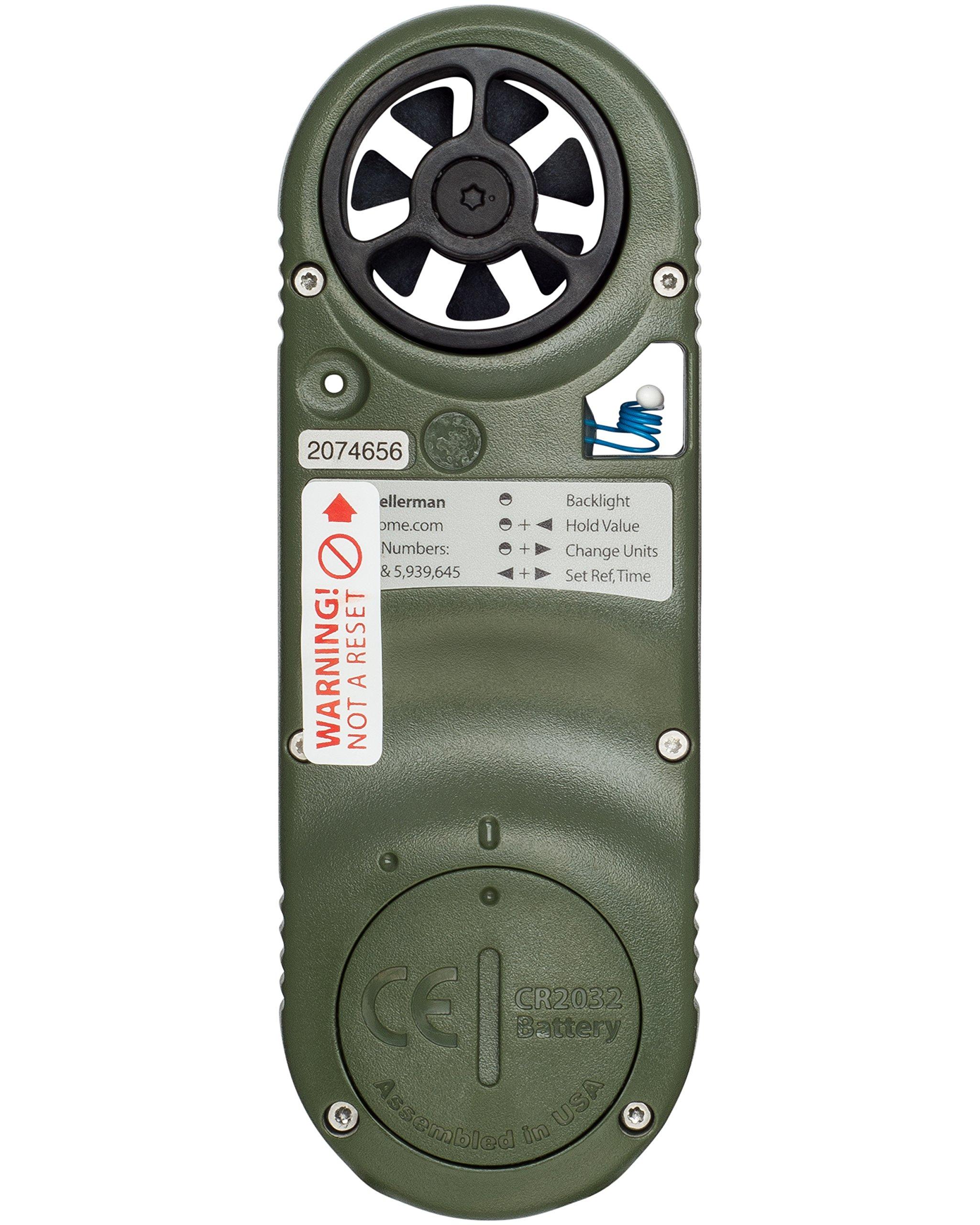 Kestrel 2500NV Pocket Weather Meter by Kestrel (Image #3)
