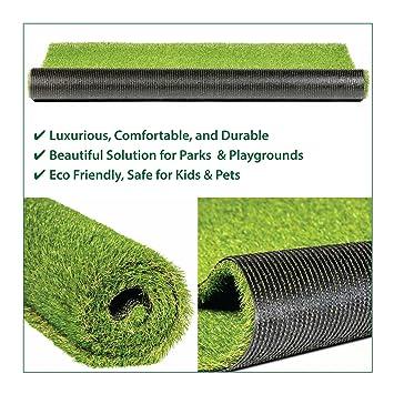 Amazoncom Mega Grass Artificial Grass Mat Rug Pad Carpet Turf