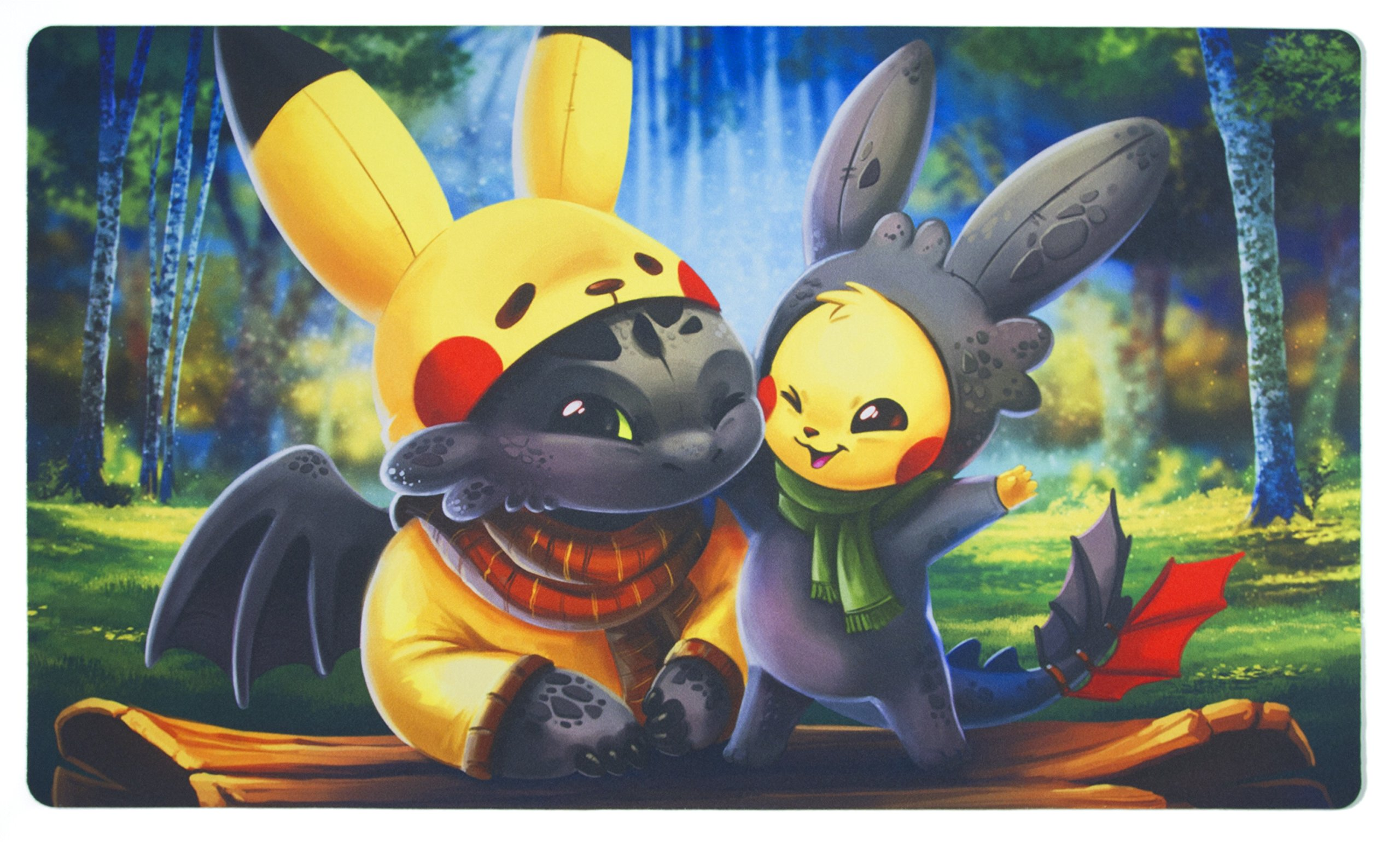 Cosplay Buddies Playmat Inked Gaming - Perfect for TCG Card Gaming! Your Game. Your Style.