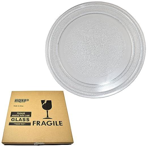 HQRP - 9 - 5/8 pulgadas plato giratorio de cristal bandeja para ...