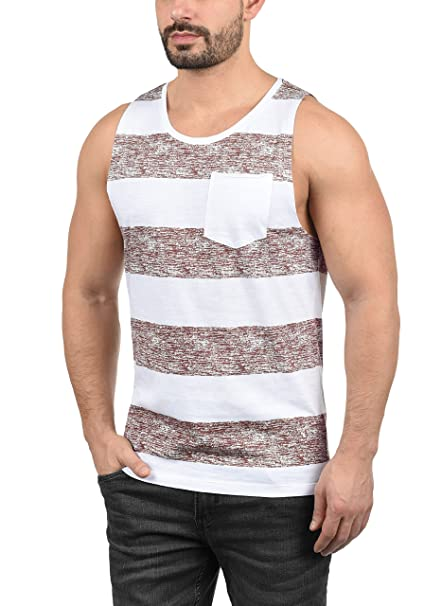 Blend Viva Camiseta Básica De Tirantes Tanque Tank Top para Hombre con Cuello Redondo x5bghw