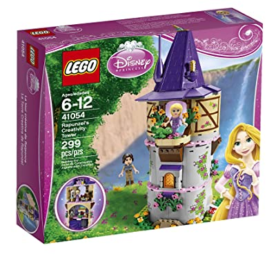 LEGO Disney Princess Rapunzel's Creativity Tower 41054 (Discontinued by manufacturer): Toys & Games