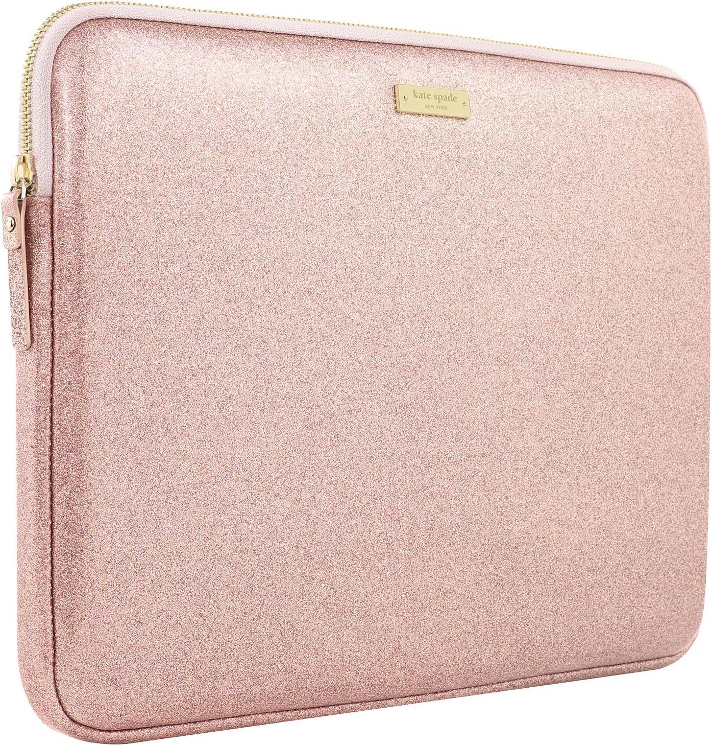 13 Laptop kate spade new york Sleeve for 13 MacBook Rose Gold Glitter