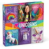 Craft-tastic I Love Unicorns Kit - Craft Kit Makes 6 Different Unicorn Themed Craft Projects by Ann Williams Group