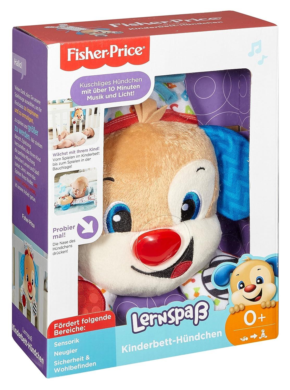Lernspa/ß Kinderbett-H/ündchen Spielzeug Mattel Fisher-Price FHJ08