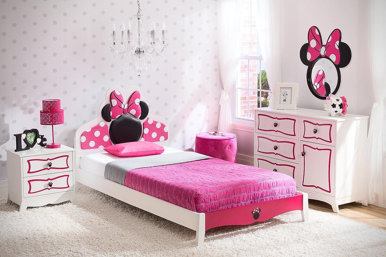 Amazon.com : Delta Children Twin Bedroom Collection, Disney Minnie ...