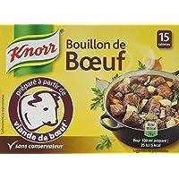 Knorr Bouillon Bœuf 15 Cubes 150g - Lot de 4