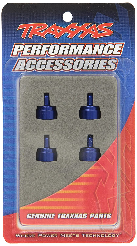 Traxxas 3767A Aluminum Shock Caps for Ultra Shocks Blue