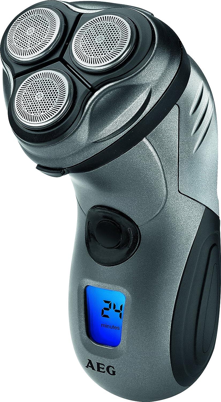 AEG HR 5655 - Afeitadora eléctrica rotativa para hombre, color antracita AEG HR 5655 anthrazit