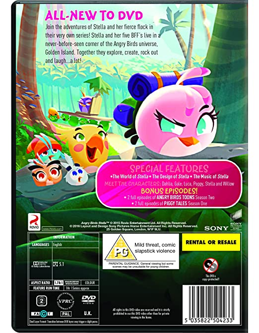 Amazon com: Angry Birds Stella: The Complete First Season