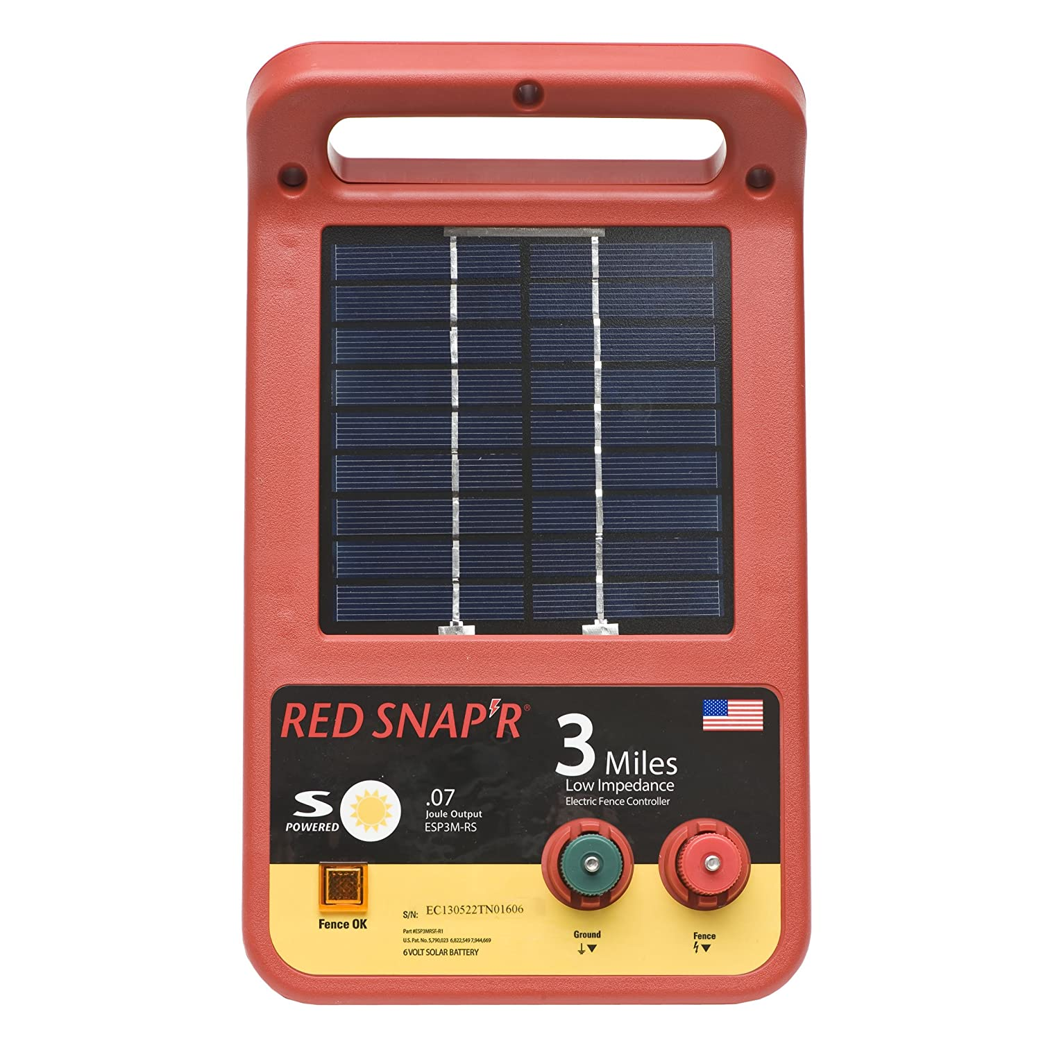 red snap r esp3m rs 3 mile solar low impedance