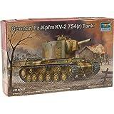 Trumpeter 367  - Tanque de guerra alemán KV-2 754 (r)