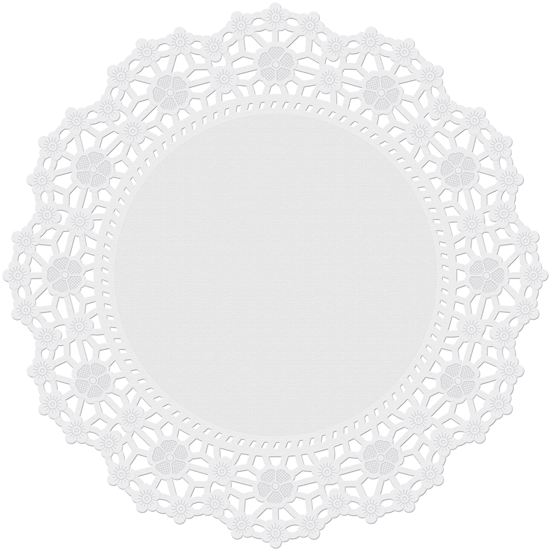 Wilton Prova di Grasso centrini-10 Cerchio Bianco 10//Pkg