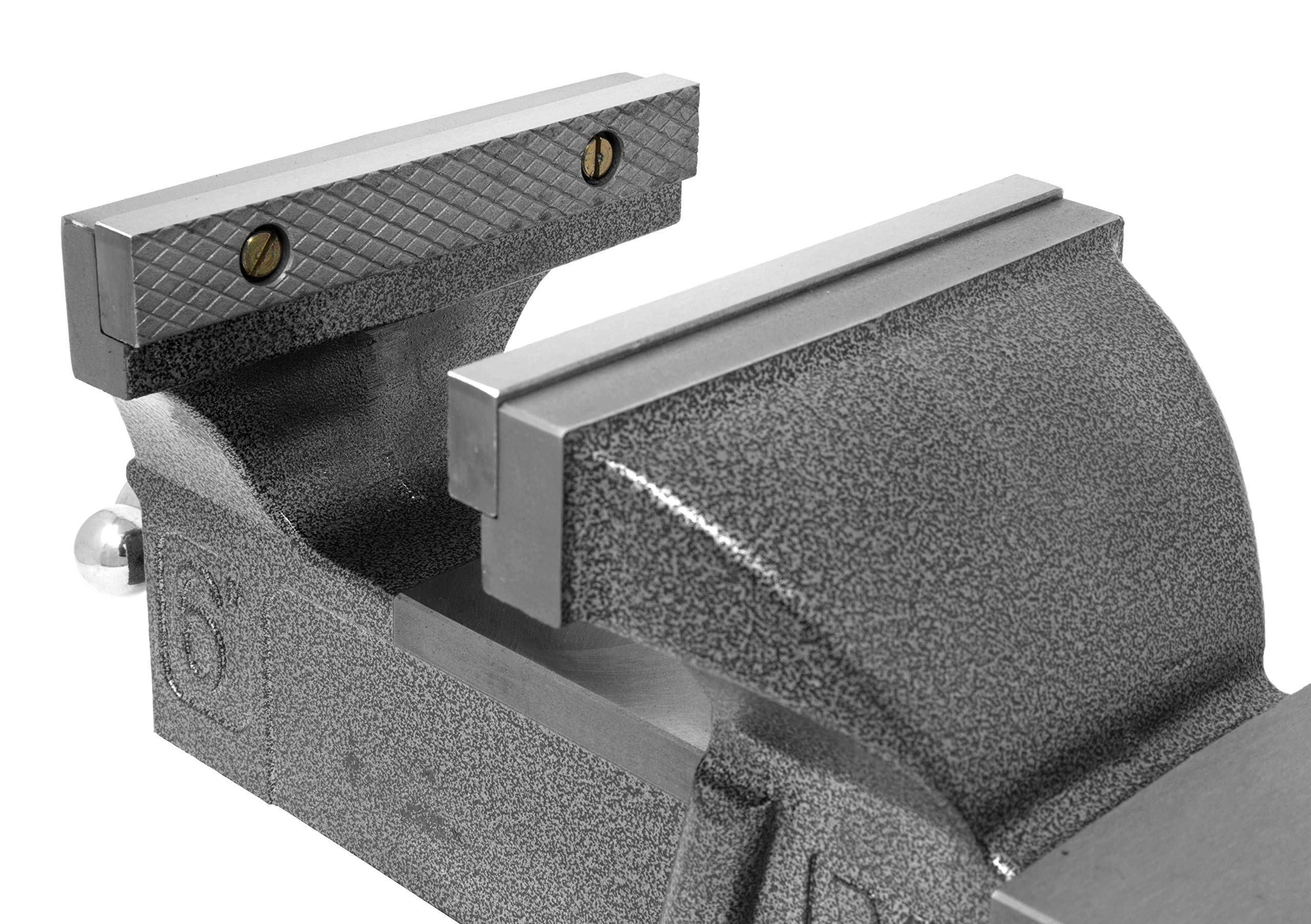 WEN 456BV 6-Inch Heavy Duty Cast Iron Bench Vise with Swivel Base (Renewed) by WEN (Image #4)