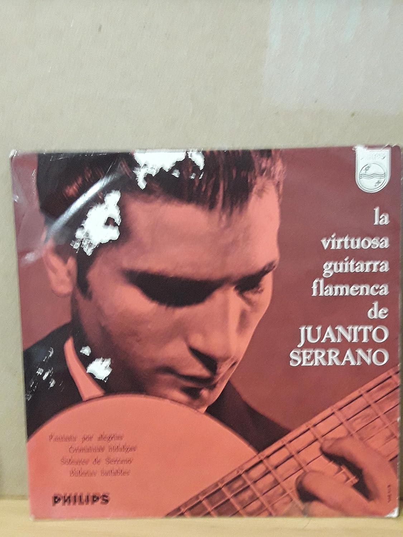 La Virtuosa Guitarra Flamenca De Juanito Serrano: Juan Serrano ...