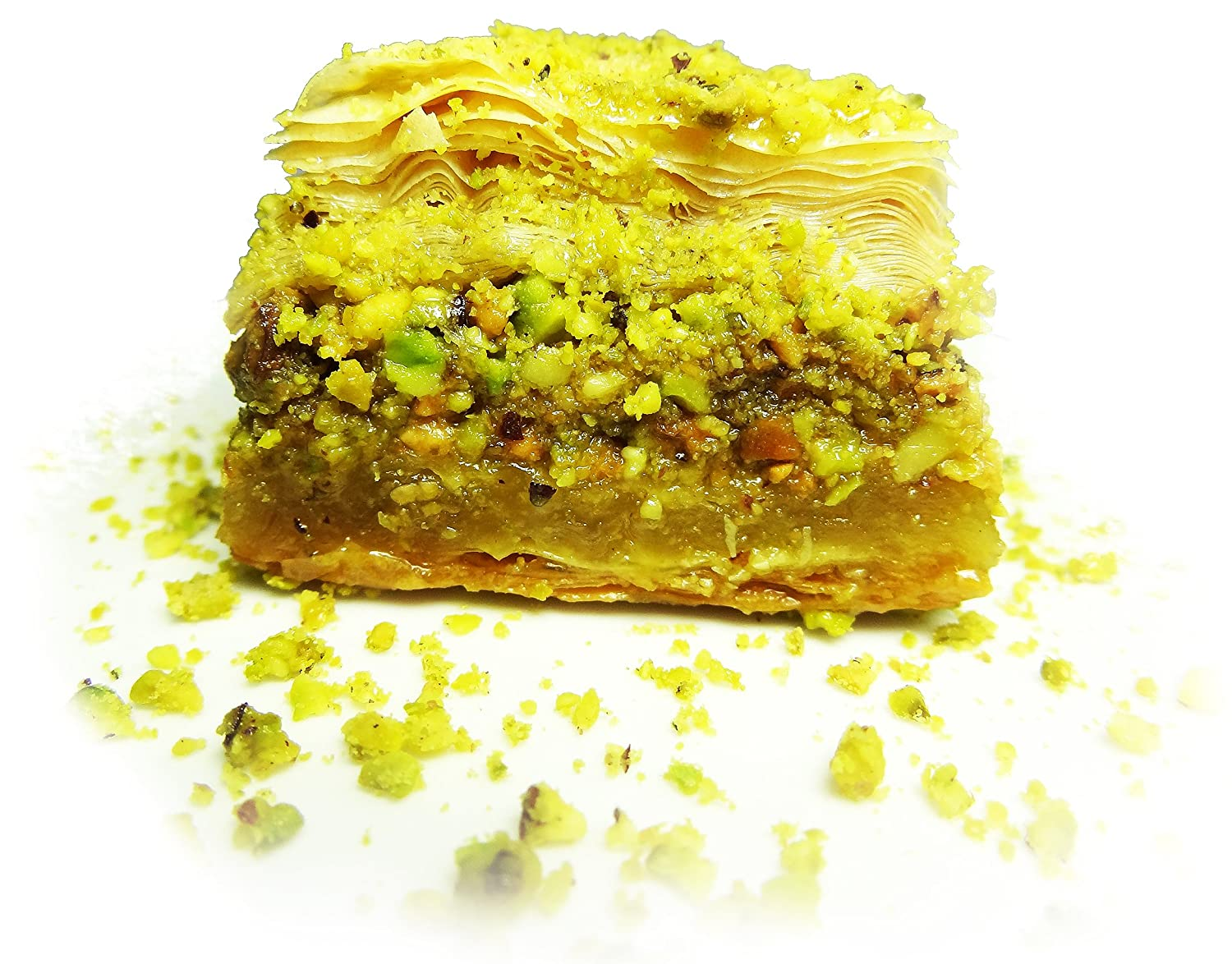 May's Middle Eastern Signature Pastries Pistachio Baklava, 12 Piece
