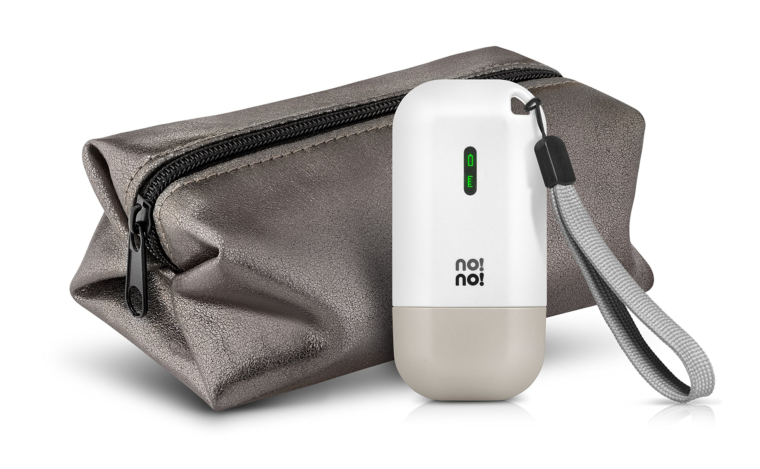 no!no! MICRO Hair Removal System for Lasting Results - Basic Kit (Pure White)