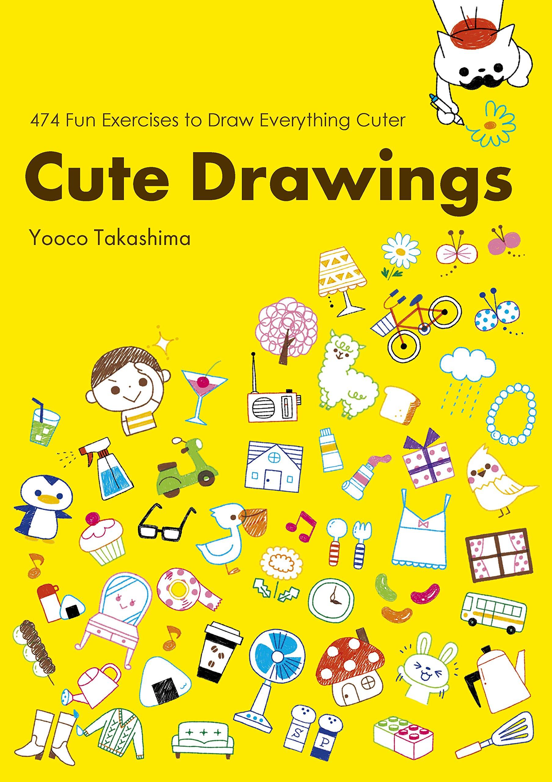 Cute Drawings 474 Fun Exercises To Draw Everything Cuter Yoko