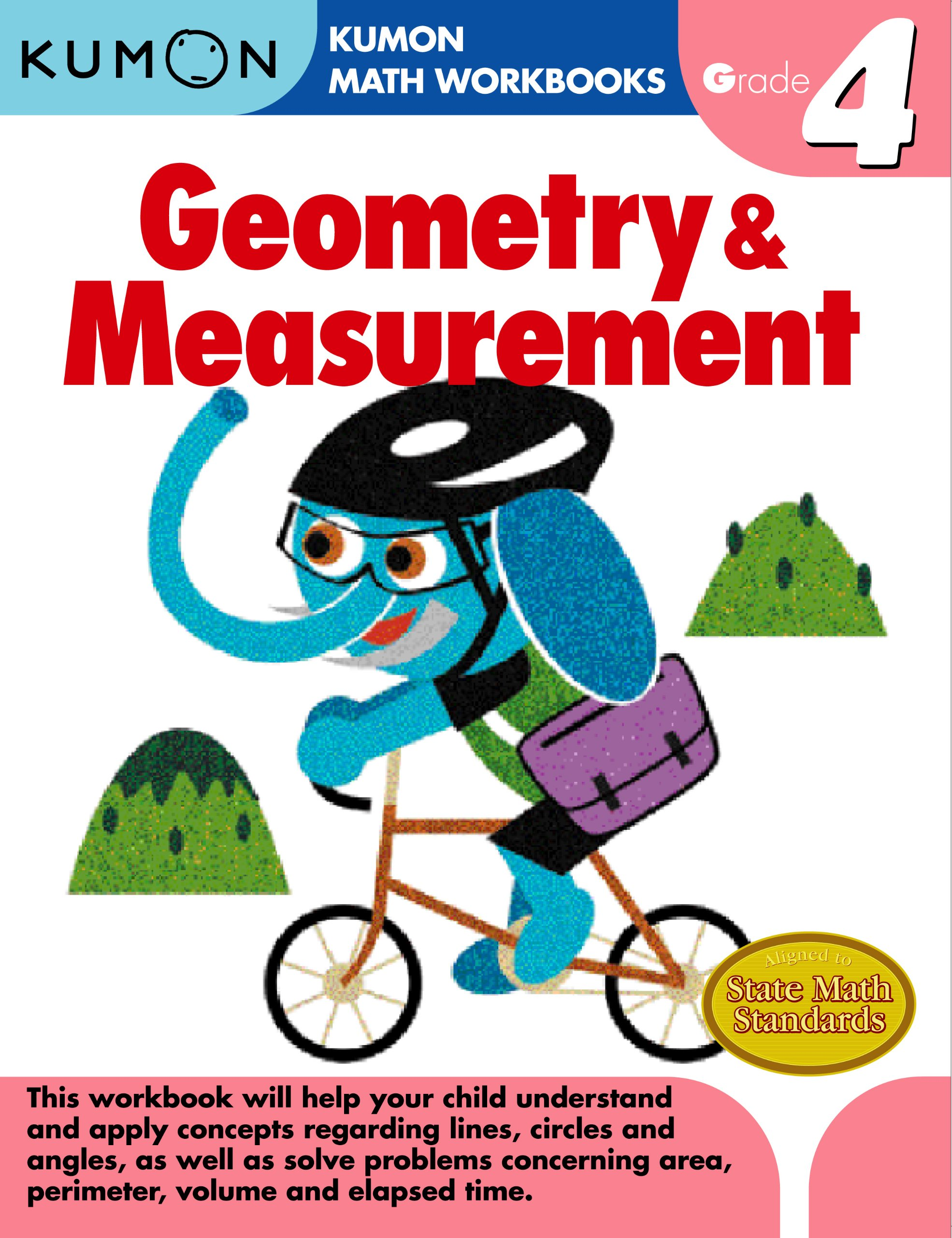 Geometry & Measurement, Grade 4 (Kumon Math Workbooks): Amazon.co.uk ...
