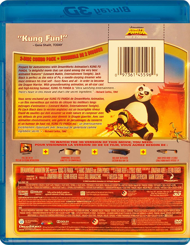 Amazoncom Kung Fu Panda 3d Blu Ray 3d Dvd Jack Black Dustin