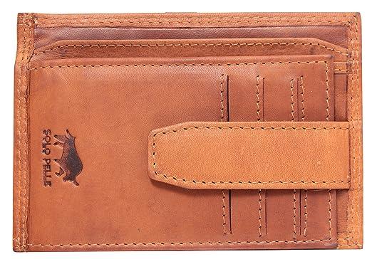 a25cb891b8da3 Solo Pelle Vintage Geldbörse aus echtem Leder  Amazon.de  Elektronik