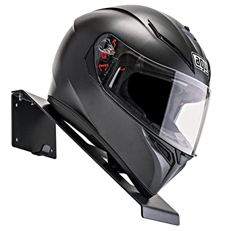 BESTUNT Helmet Hanger | For Motorcycle Holder Shelf Rack Storage Fixation |  Mount On Wall |