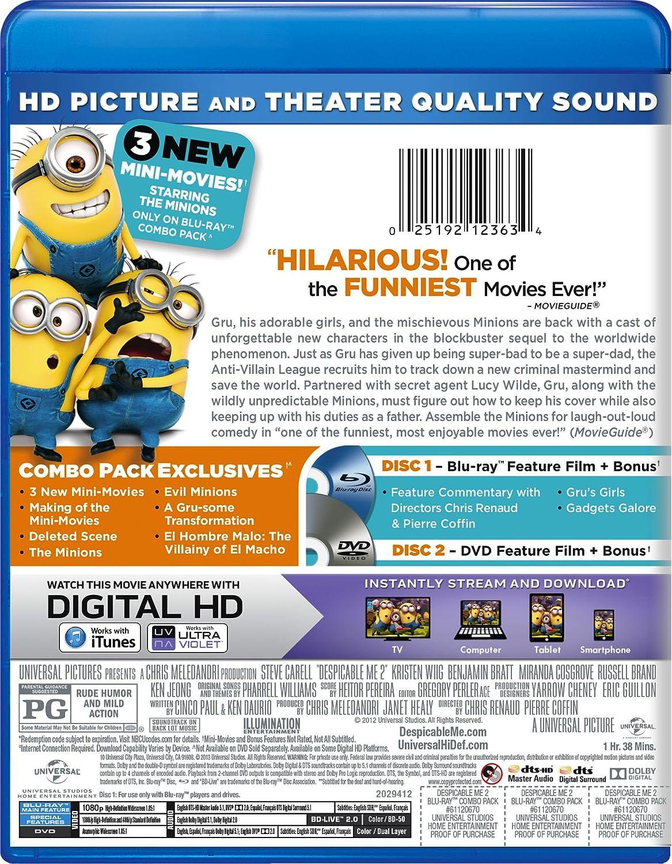 Despicable Me 2 Edizione: Stati Uniti Reino Unido Blu-ray ...