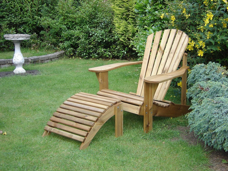 Adirondack Chair & Footstool Plans