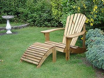 Adirondack Chair U0026 Footstool Plans