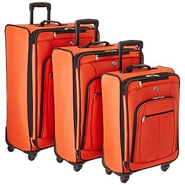 American Tourister AT Pops Plus 3pc Nested Set 21 25/Spinner 29, Orange