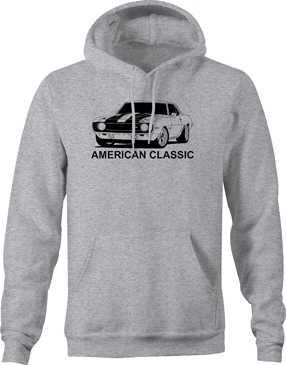 American Classic Muscle Car Camaro Z28 Hotrod Muscle Car Hooded Hoodie for Men