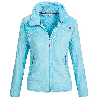 Veste polaire avec gants douillets Unicorne de Geographical Norway - Pour  femme- - Turquoise - 3792cc2515ef