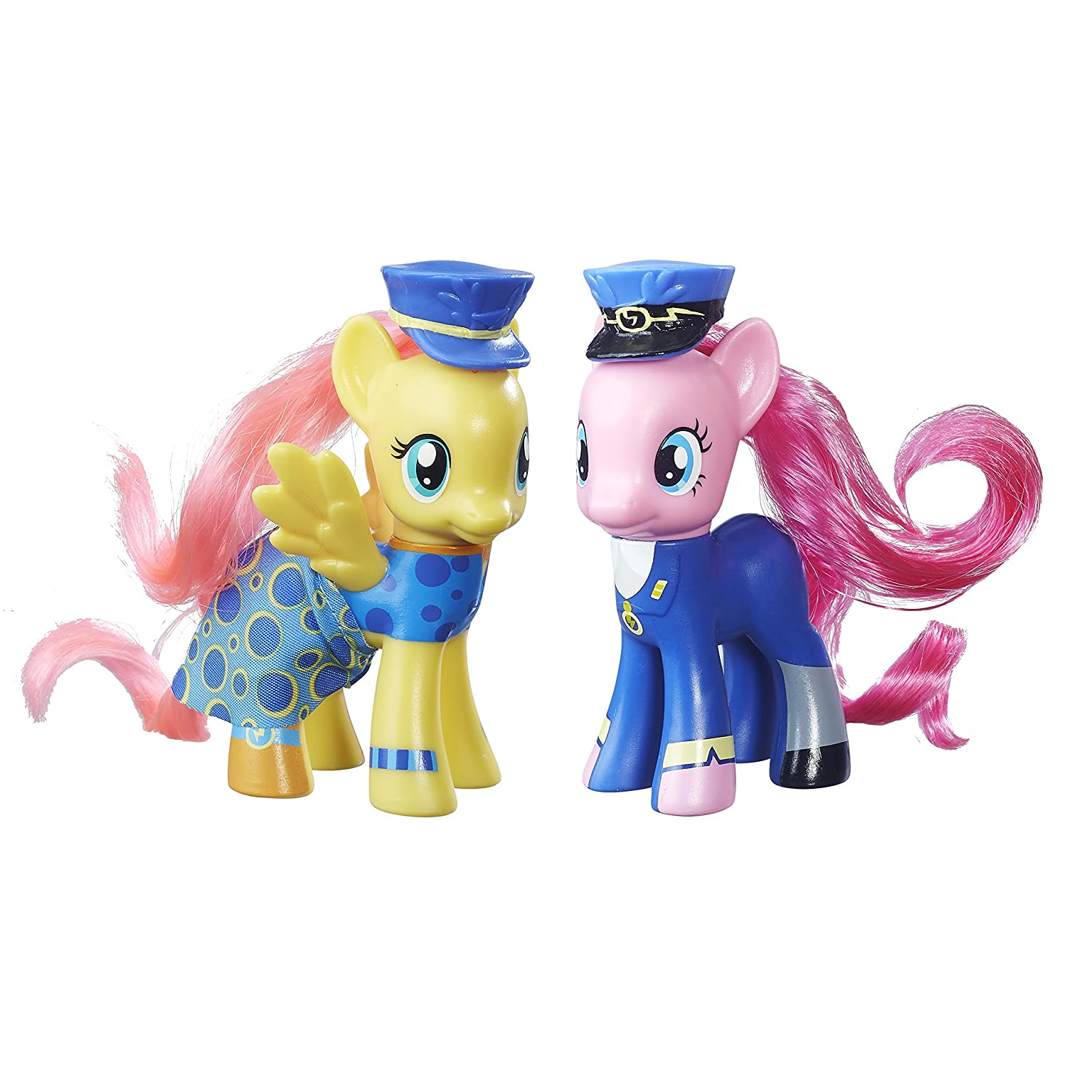 My Little Pony Toys : My little pony wonderbolt fluttershy and pinkie pie toy