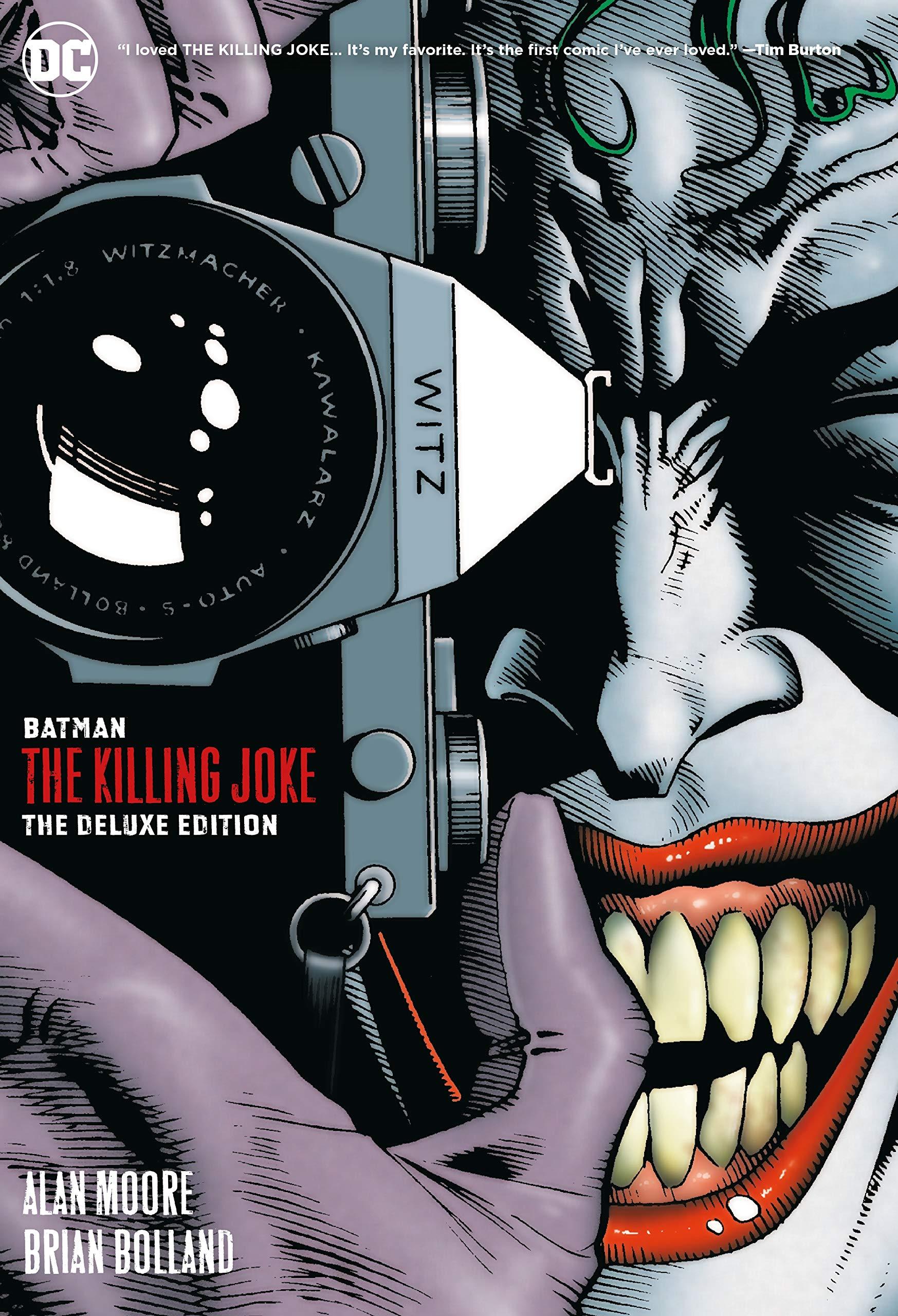 Batman The Killing Joke Deluxe New Edition Dc Black Label Edition Amazon In Moore Alan Bolland Brian Books