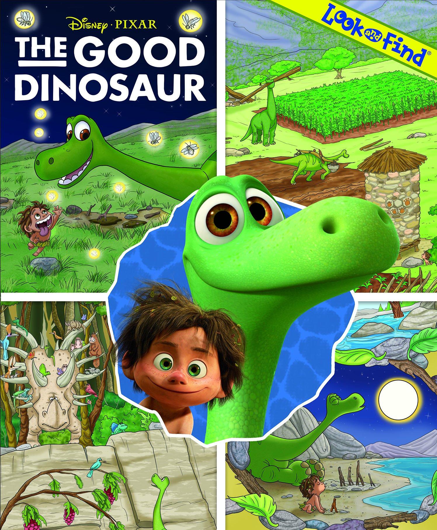 Disney Pixar The Good Dinosaur Look and Find pdf epub