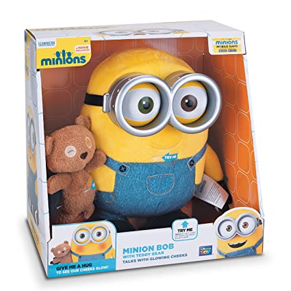 Despicable Me Minions Bob With Teddy Bear