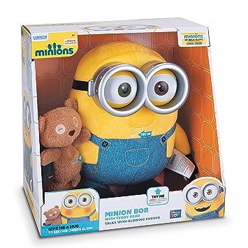 Y esJuguetes Minion Juegos Bob With Teddy BearAmazon Minions hQrdts