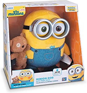 Minions Minion Bob with Teddy Bear: Amazon.es: Juguetes y juegos