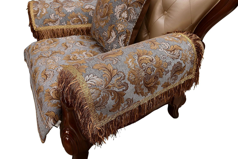 Amazon Com Sideli Luxury Sofa Arm Chair Pad Leather Sofa Cover With