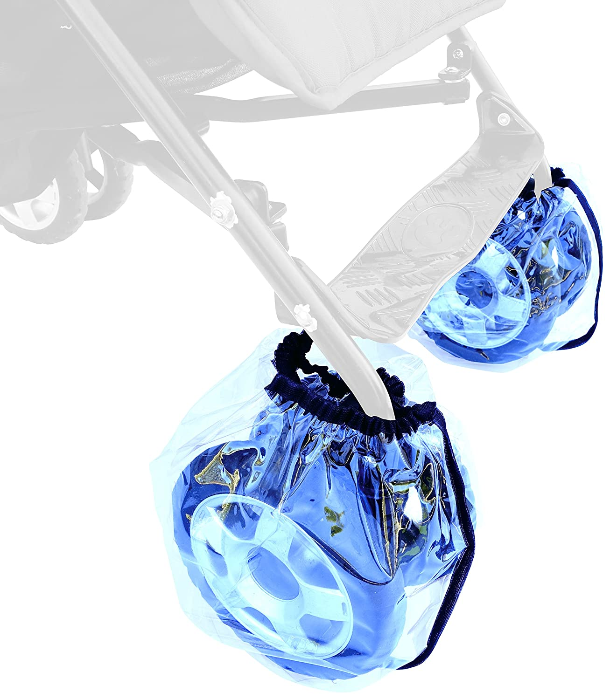 Sunnybaby 11900.0 Radschutz für Buggyräder, 2 Stück-Packung Folie, transparent 2 Stück-Packung Folie Sunnybaby GmbH