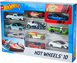 Hot Wheels 10 Car Pack (Styles May Vary) (Amazon Exclusive)