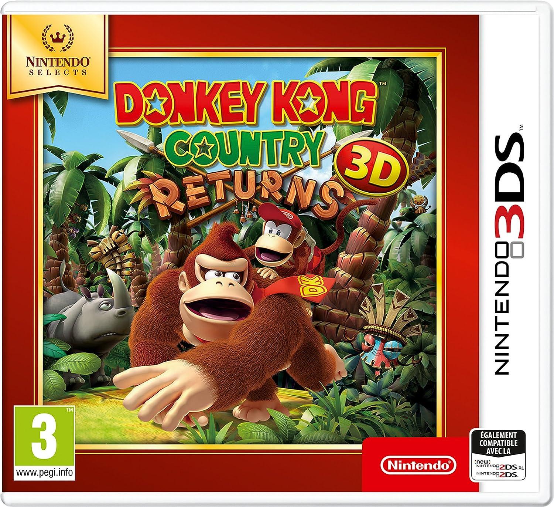 Donkey Kong Country Returns 3D - SELECTS [Importación francesa ...