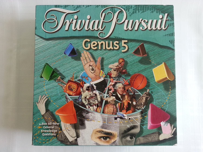 Genus V Hasbro Trivial Pursuit
