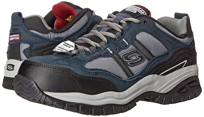 Skechers Zapatos Para Hombre Trabajan Amazon 3abrxE