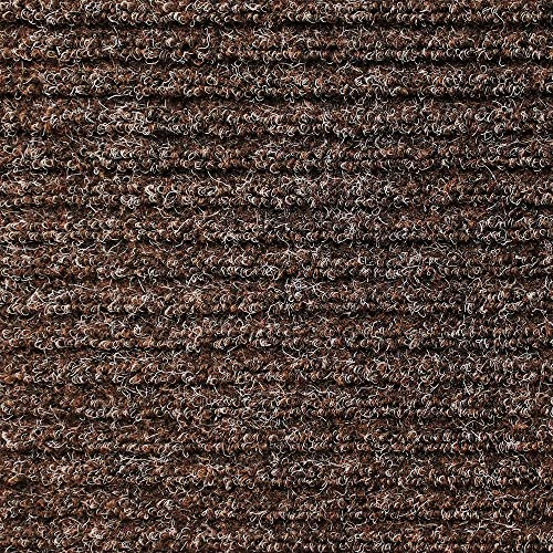 House, Home and More Skid-Resistant Heavy-Duty Door Mat – Tuscan Brown – 3 Feet X 6 Feet