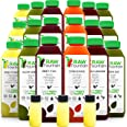 3 Day Juice Cleanse by Raw Fountain, All Natural Raw, Cold Pressed Fruit and Vegetable Juices, Detox Cleanse, 18 Bottles 16oz